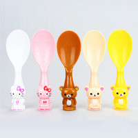 Kitchen Helper Home Hot Sale Hot Deal Easy Tools Cute Stylish On Sale Creative Cartoons High Temperature Resistance Environmental Plastic Spoon [6283274566]