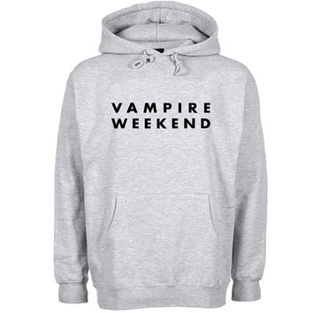 vampire weekend Hoodie Sweatshirt Sweater Shirt Gray and beauty variant color for Unisex size