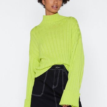 Let's Turn Up Neon Sweater