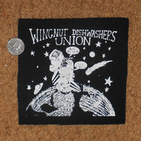 Wingnut Dishwashers Union Patch