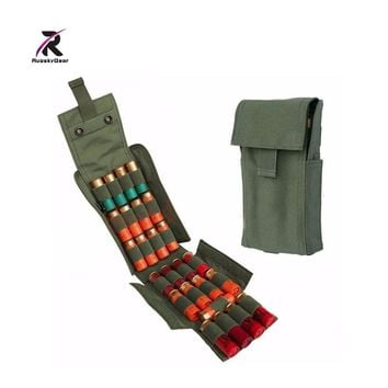 2017 Hunting Ammo Pouches With Molle Pals 25 Round 12 Gauge Shells Shotgun Reload Magazine Pouch For Best Airsoft MOLLE Holder