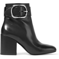 Kenze buckled leather ankle boots   Alexander Wang   CA   THE OUTNET