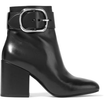Kenze buckled leather ankle boots | Alexander Wang | CA | THE OUTNET
