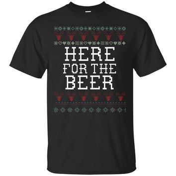 Beer Funny Holiday Ugly Christmas Sweater T-Shirt