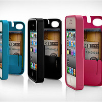 EYN (Everything You Need) Smartphone Case for iPhone 4/4s - Red (eynred)