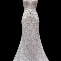KCW1527 Lace Halter Wedding Dress by Kari Chang Eternal