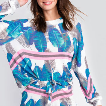 WILDFOX | Electric Palms Sommers Sweater