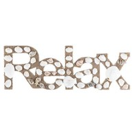 Relax Word with Shells & Sand | Hobby Lobby