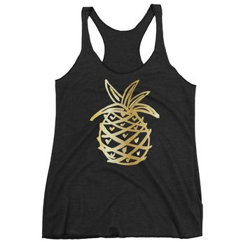 c367cda36f Shop Pineapple Tank Top on Wanelo