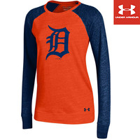 Detroit Tigers Women's Triblend Baseball Tee by Under Armour® - MLB.com Shop