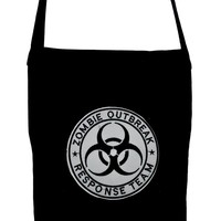 Zombie Outbreak Response Team Crossbody Sling Bag Horror