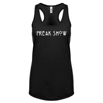 Racerback Freak Show Womens Tank Top