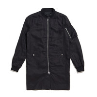 MA-1 EXTENDED JACKET BLK