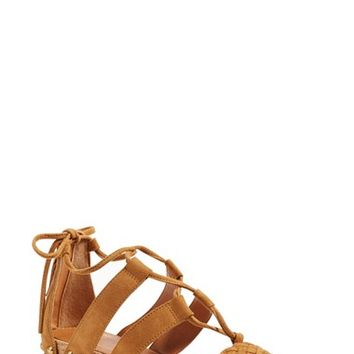 SARTO by Franco Sarto 'Pierson' Lace-Up Sandal (Women) | Nordstrom