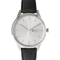 Uniform Wares - C40 Stainless Steel and Leather Wristwatch