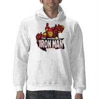The Invincible Iron Man Sweatshirt from Zazzle.com