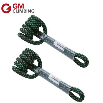 Polyester Climbing Rope 8mm 18in / 30in Prusik Loop Cord Safety Rescue Rigging Rappelling Tree Climbing Equipment