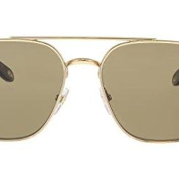 Givenchy 7033/S J5G Gold 7033/S Square Pilot Sunglasses Lens Category 2 Size 58