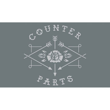 Counterparts Poster Flag