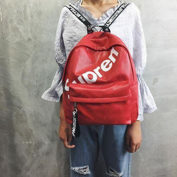 Supreme Back To School College Stylish Comfort Casual Unsiex Backpack [429893746724]