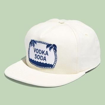 Men's M. Carter 'Vodka Soda' Snapback Cap - White