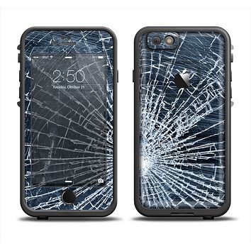 The Shattered Glass Apple iPhone 6 LifeProof Fre Case Skin Set