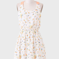 Blowing In The Wind Floral Dress