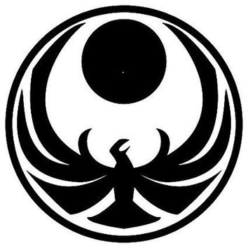 Skyrim Symbol  Vinyl Car/Laptop/Window/Wall Decal