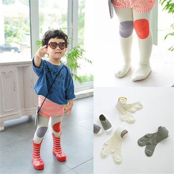 Autumn Winter Cute Baby Boy Girl Tights Cotton Soft Children Toddler Pantyhose For 0-3 Years