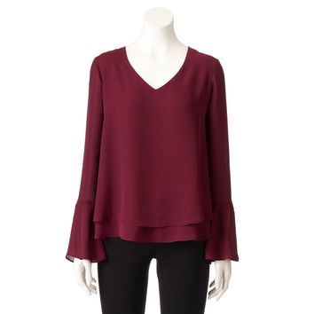 Women's LC Lauren Conrad Layered Top