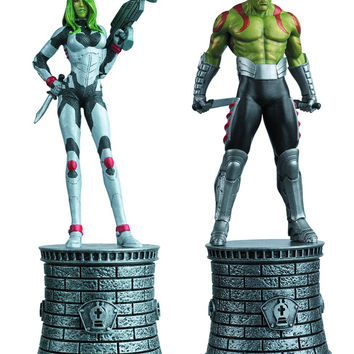 Marvel Chess Special #4 Gamora & Draxx Bishops