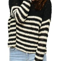 Striped Core Sweater