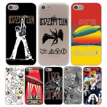 Led Zeppelin Funda Hard Phone Cover Case for iphone 5 6 7 8 X