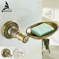 Modern Bathroom Antique Bronze Finish Soap Basket Soap Dish Soap Holder Bathroom Accessories Furniture Sl-7802