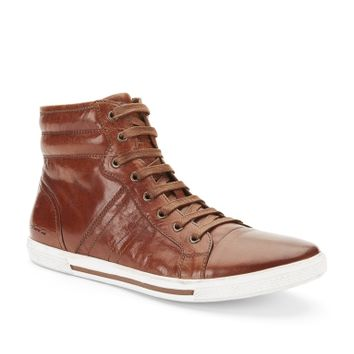 Down Tonight Leather High-Top Sneaker