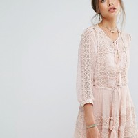 Rahi Cali Dulce Crochet Dress at asos.com