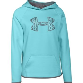under armour sweatshirts for girls. under armour girls\u0027 fleece big logo hoodie | dick\u0027s sporting goods sweatshirts for girls