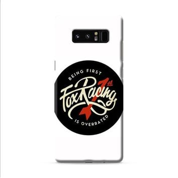 Being First Fox Racing Samsung Galaxy Note 8 case