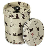 Colorful Jewelry Storage Box Tea Food Caddy Tins Canister Container Double Cover