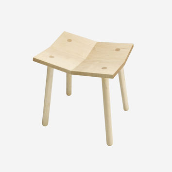 Mitre Stool - Low / Natural