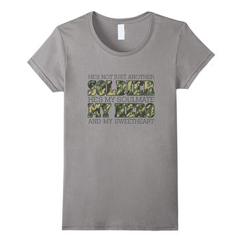 Military T Shirt - Not Just Another Soldier My Hero Shirt