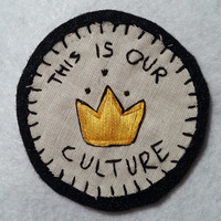 Hand Embroidered Fall Out Boy Patch