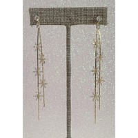 Theia Jewelry Floral Star Earrings