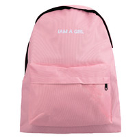 Letter Print  Zipper Pocket Outdoor Backpack