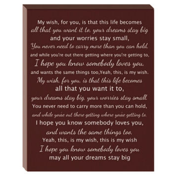 Custom Lyrics Canvas- song lyrics canvas, first dance lyrics, first dance canvas, wedding song canvas, 16x20 quote canvas, wedding keepsake