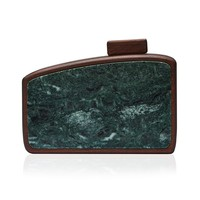 Gio Clutch in Green