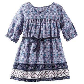 OshKosh B'gosh Printed Dress - Baby Girl, Size: