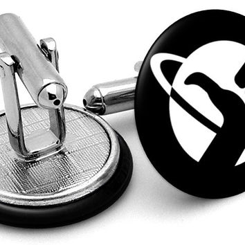 Hitchhikers Guide To Galaxy Cufflinks