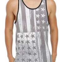 RUDE Americana Block Tank Top