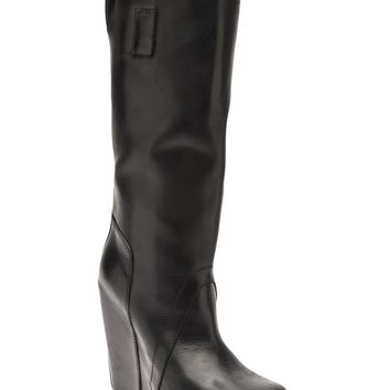 Rick Owens Tall Leather Boot